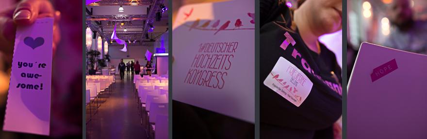 1. deutscher Hochzeitskongress in Köln bei rhein weiss am 26.10.2014 im bauwerk mit friederike delong