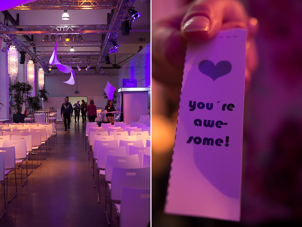 erster deutscher Hochzeitskongress  mit rhein weiss in Köln am 26.10.2014 mit Friederike Delong Fotos und Impressionen  Bauwerk Köln und Kompliment