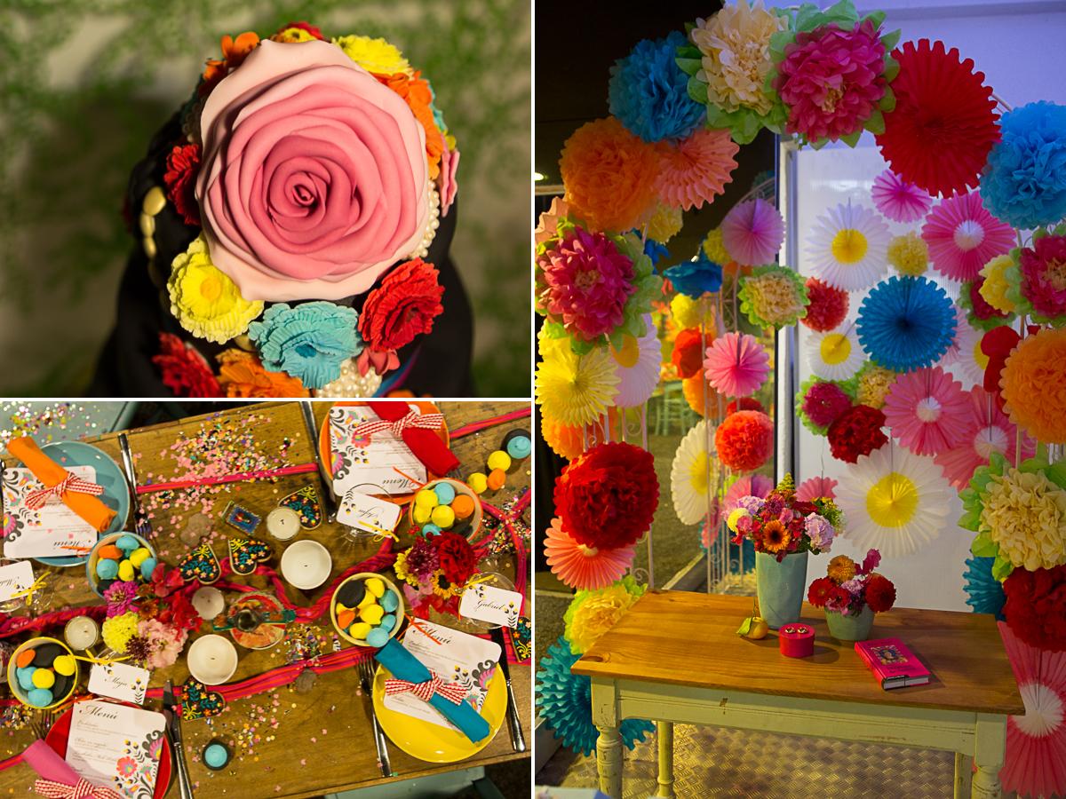 erster deutscher Hochzeitskongress  mit rhein weiss in Köln am 26.10.2014 mit Friederike Delong Fotos und Impressionen  Frida Kahlo Inpsiration und Trauung Dekoration