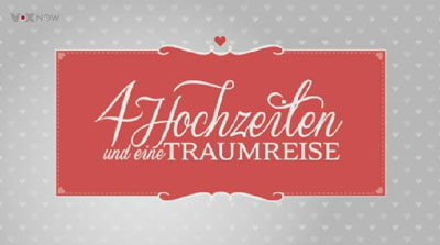 Bräute bei 4 Hochzeiten und eine Traumreise mit Sabrina und Rebecca in Kernen im Remstal mit dem Tema schwarzweiß| freie Trauung mit der Rednerin und Trautante Friederike Delong bei VoxNow