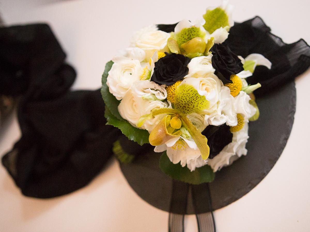Brautstrauß von Lebensraum Dekoration und Florstik auf der Engayged Hochzeitsmesse für gleichgeschlechtliche Paare LGBT in Frankfurt mit Friederike Delong als freie Rednerin für Hochzeiten in Rhein-Main