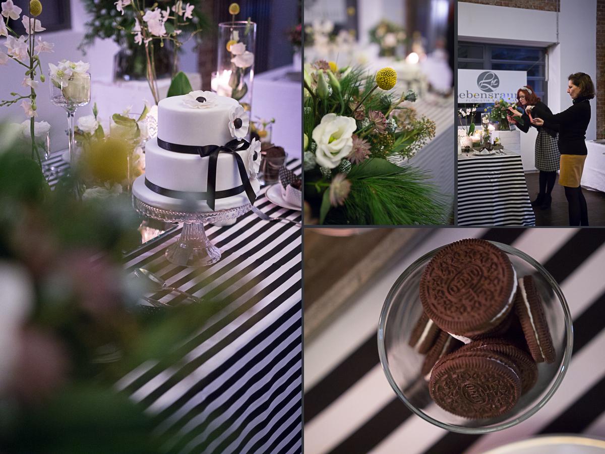 Lebensdraum Dekoration und Floristik auf der Engayged Hochzeitsmesse für gleichgeschlechtliche Paare LGBT in Frankfurt mit Friederike Delong als freie Rednerin für Hochzeiten in Rhein-Main