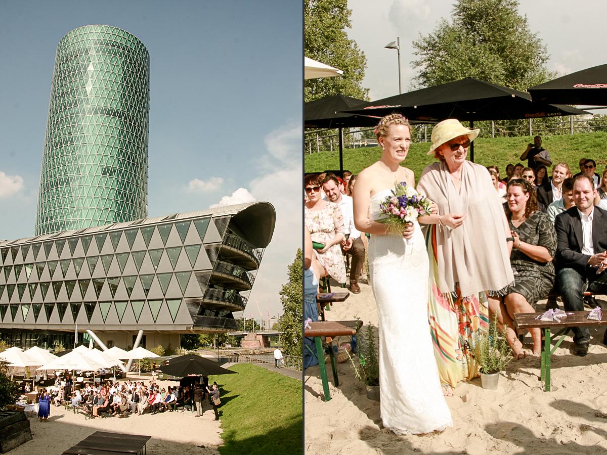Trauung und Hochzeit mit Rosmarin | freie Trauung Frankfurter Botschaft in Frankfurt mit freier Rednerin Friederike Delong