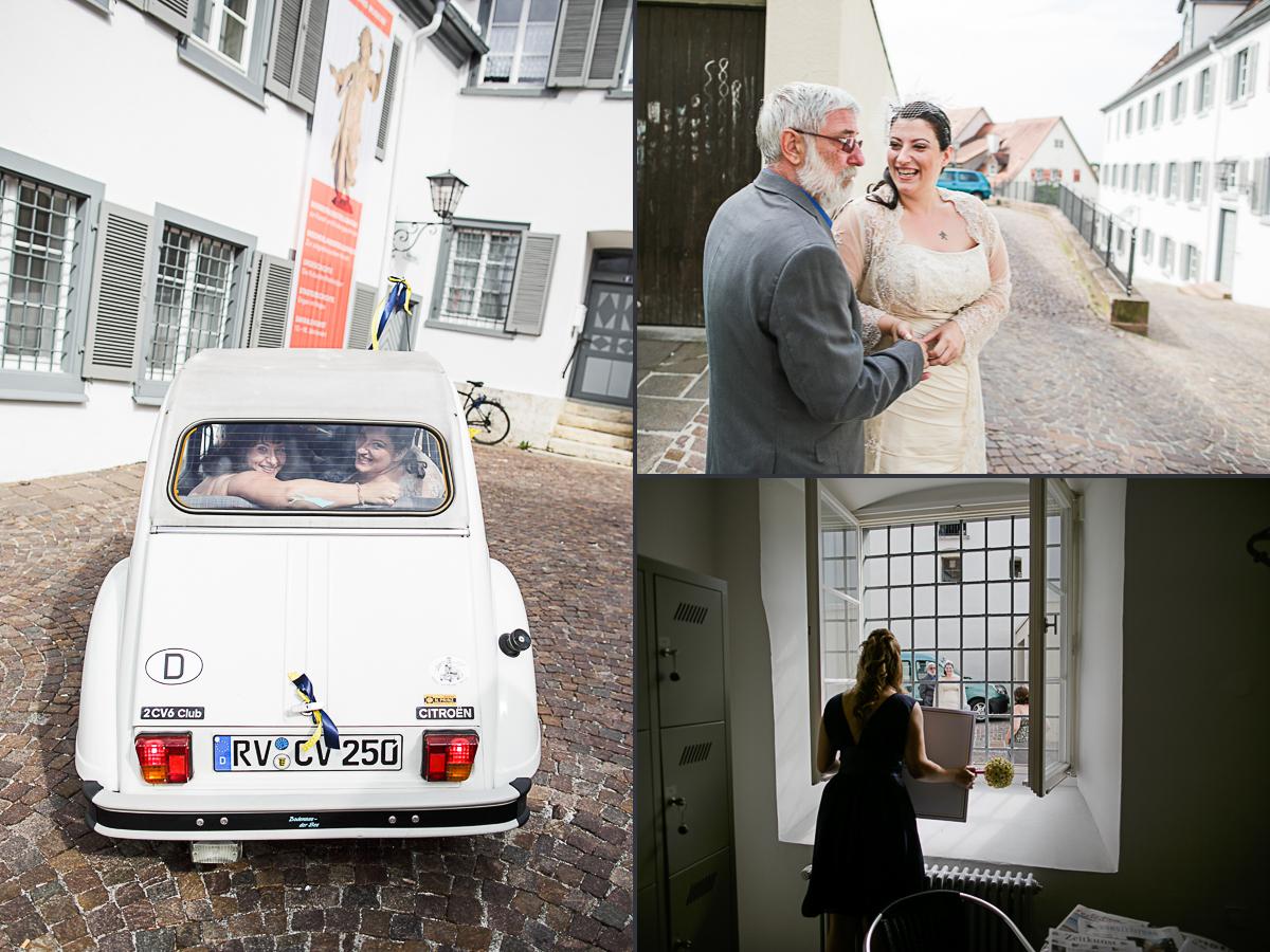 Einzug der Braut bei einer freien Trauung